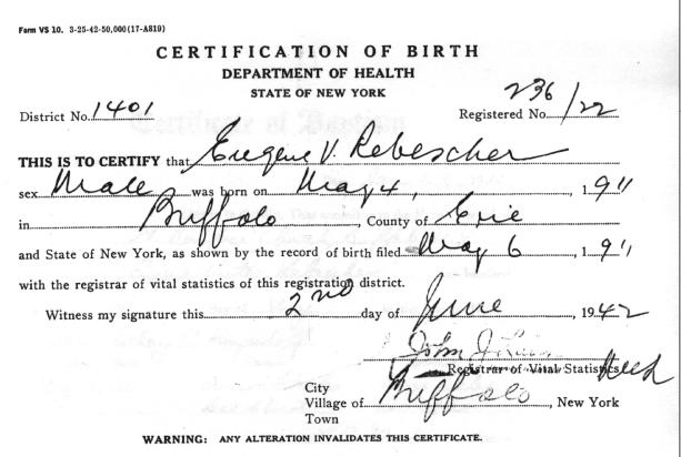 Attractive Birth Certificate Buffalo Ny Image - Online Birth ...